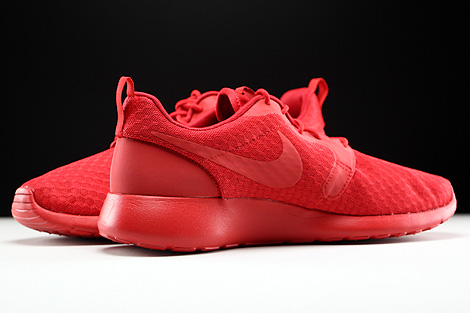 Nike Roshe One Hyp University Red Black Inside