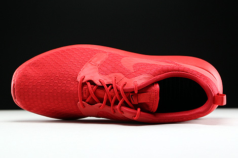 Nike Roshe One Hyp University Red Black Over view
