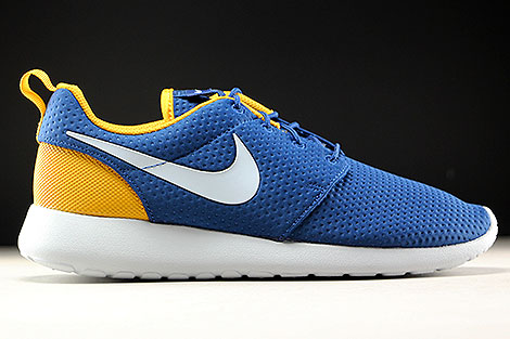 Nike Roshe One SE Coastal Blue Pure Platinum Gold Leaf Right