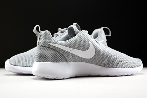 Nike Roshe One Hellgrau Weiss Innenseite
