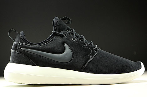 Nike Roshe Two Schwarz Anthrazit Creme