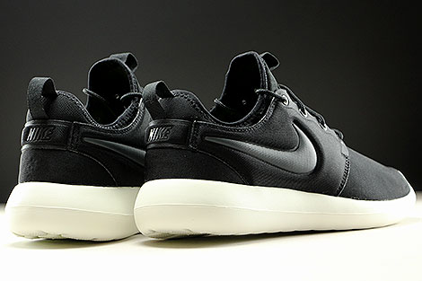 Nike Roshe Two Black Anthracite Sail Back view