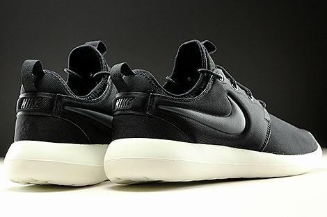 Nike Roshe Two Schwarz Anthrazit Creme Rueckansicht