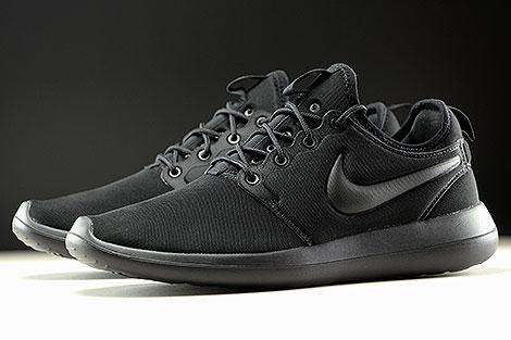 Nike Roshe Two Black Black Sidedetails