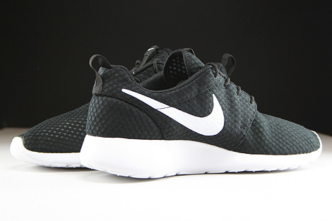 Nike Rosherun Breeze Black White Inside