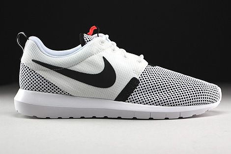 Nike Rosherun NM BR White Black Hot Lava