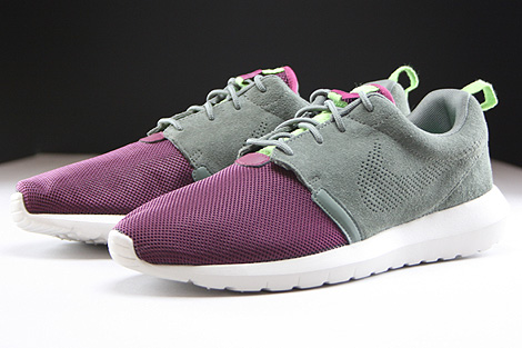Nike Rosherun NM FB River Rock Villain Red Light Stone Poison Green Sidedetails