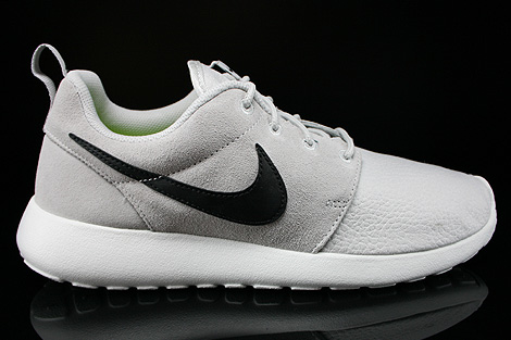 Nike Rosherun Suede Light Ash Grey Black Summit White Volt