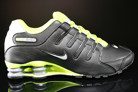 Nike Shox Grey Lime Green