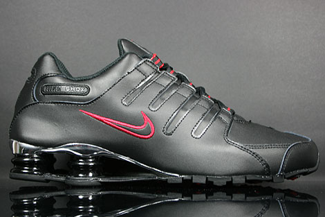 Nike Shox NZ EU Black Varsity Red Silver