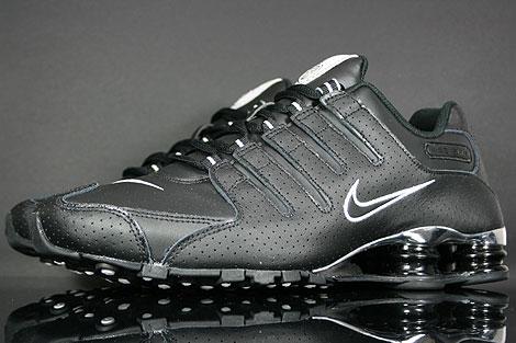 Nike Shox NZ Eu Weiß Schwarz