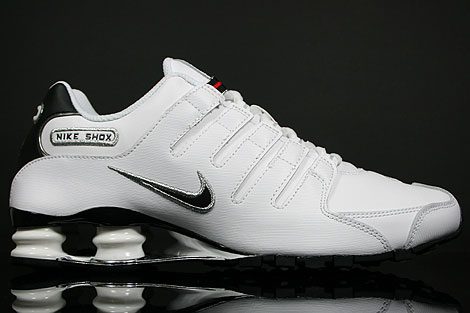 Nike Shox Nz White And Red