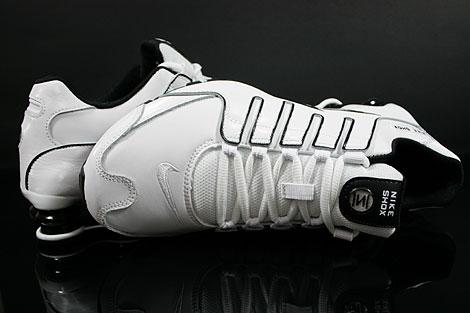 Nike Shox NZ Schwarz Weiß
