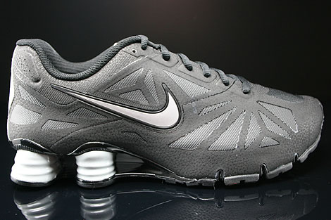 da40a4a1b7bbf1 Nike Shox Turbo 14 Black Metallic Silver Black 631760-002 - Purchaze