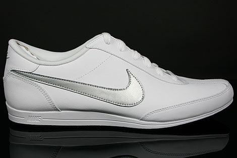 Nike Signature White Metallic Silver Black Profile