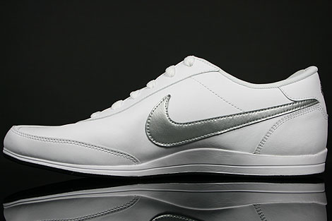 Nike Signature White Metallic Silver Black Back view