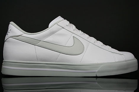 Nike Sweet Classic Leather Weiss Grau Rechts
