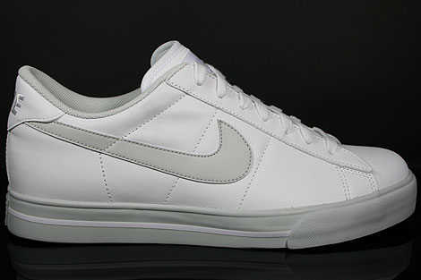 Nike Sweet Classic Leather Weiss Grau Seitenansicht