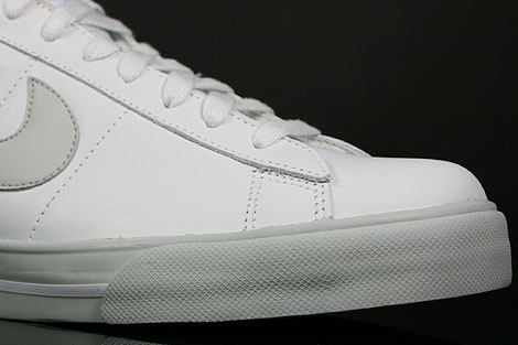 Nike Sweet Classic Leather Weiss Grau Innenseite