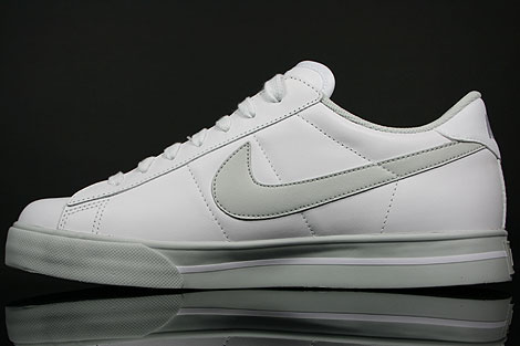 Nike Sweet Classic Leather White Neutral Grey Back view