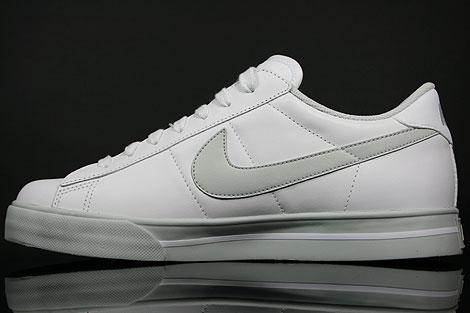 Nike Sweet Classic Leather Weiss Grau Rueckansicht