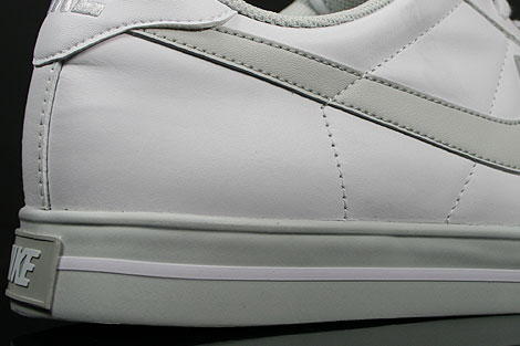 Nike Sweet Classic Leather Weiss Grau Laufsohle