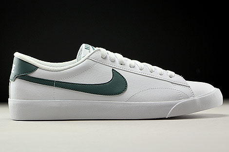 Nike Tennis Classic AC Weiss Dunkelgruen