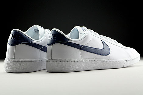 Nike Tennis Classic CS White Midnight Navy Back view