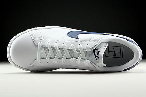 Nike Tennis Classic CS White Midnight Navy Over view
