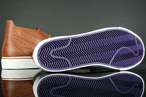 Nike Toki Premium Braun Weiss Violett