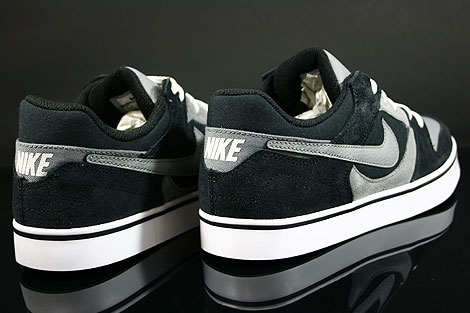 Nike Twilight Low SE Black Cool Grey White Back view