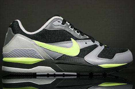 Nike Twilight Runner EU Schwarz Neongruen Grau
