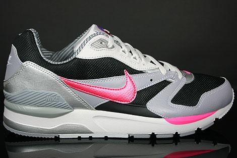 Nike Twilight Runner EU Schwarz Pink Grau Silber Seitenansicht