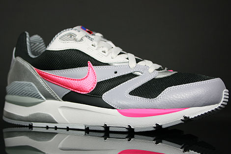Nike Twilight Runner EU Black Pink Flash Stealth White Sidedetails
