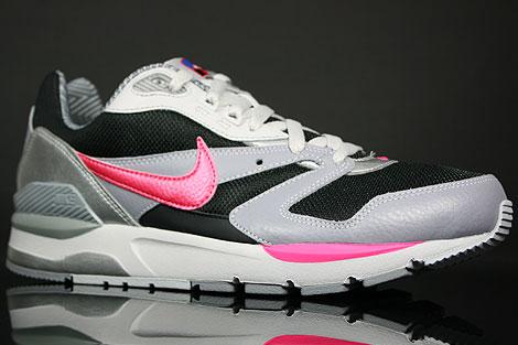 Nike Twilight Runner EU Schwarz Pink Grau Silber Seitendetail