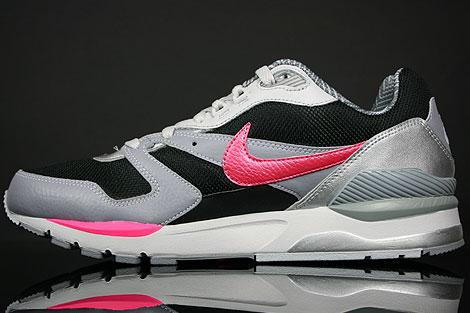 Nike Twilight Runner EU Schwarz Pink Grau Silber Rueckansicht