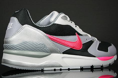 Nike Twilight Runner EU Schwarz Pink Grau Silber Oberschuh