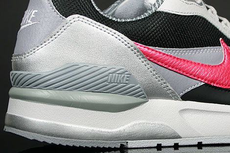 Nike Twilight Runner EU Schwarz Pink Grau Silber Laufsohle