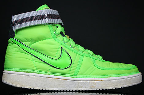 Nike Vandal Hi Supreme Electric Green Medium Grey