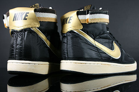 Nike Vandal High Supreme Black Metallic Gold White