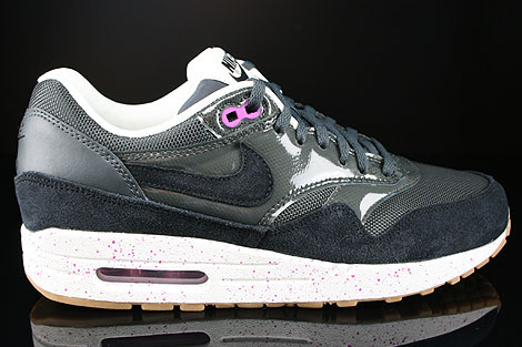 Nike WMNS Air Max 1 Anthracite Black Club Purple Sail Right