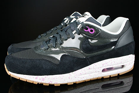 nike wmns air max 1 anthracite black club pink