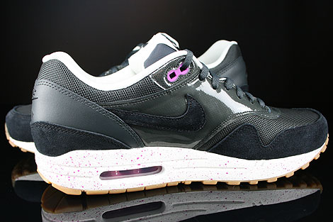 Nike WMNS Air Max 1 Anthracite Black Club Purple Sail Inside