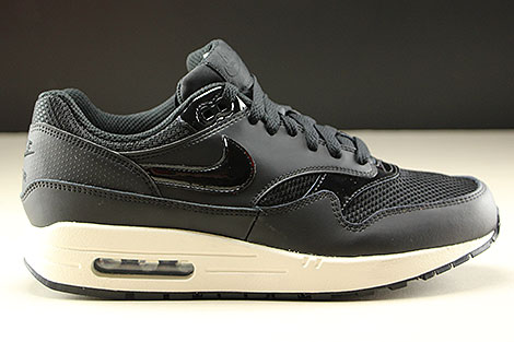 56b9ee775cb3 Nike WMNS Air Max 1 Black Black Summit White 319986-039 - Purchaze