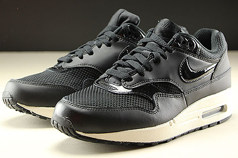 Nike WMNS Air Max 1 Black Black Summit White Sidedetails