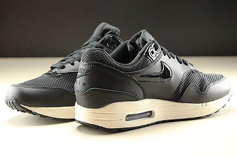 Nike WMNS Air Max 1 Black Black Summit White Inside