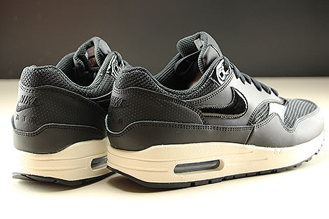 Nike WMNS Air Max 1 Black Black Summit White Back view