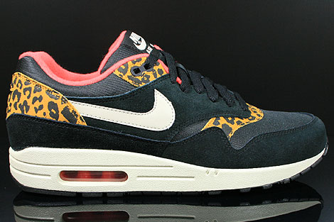 air max 1 black gold leopard