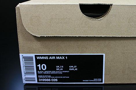 innovative design 7c592 67556 ... nike air max 1 black sand trap dark gold leaf sunburst ...
