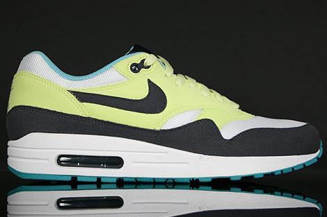 Nike WMNS Air Max 1 Grau Gelb Weiss Hellblau